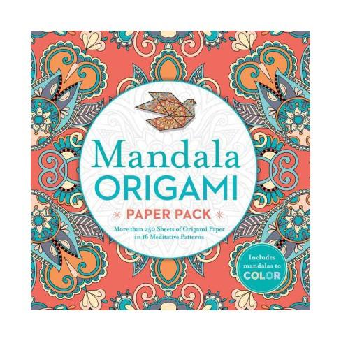 Mandala Origami Paper Pack More Than 250 Sheets Of Origami Paper