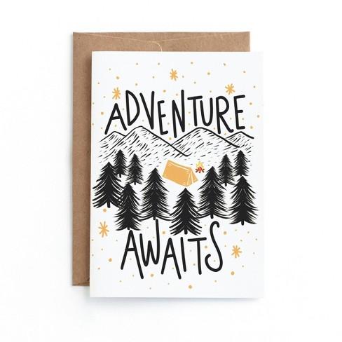 Adventure Awaits Birthday Greeting Card