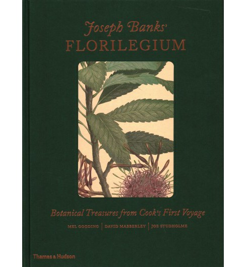 Joseph Banks' Florilegium : Botanical Treasures from Cook's First Voyage -  (Hardcover) - image 1 of 1