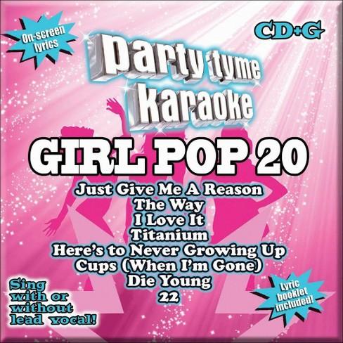 Various - Party Tyme Karaoke:Girl Pop 20 (CD)
