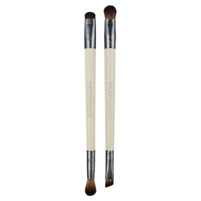 EcoTools Eye Enhancing Duo Brush Set - 2pc