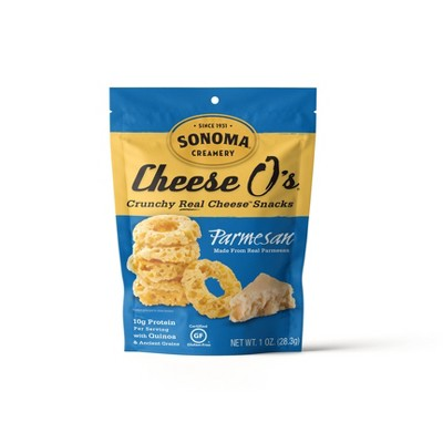 Mr. Cheese O's Parmesan Crunchy Real Cheese Snacks - 1oz