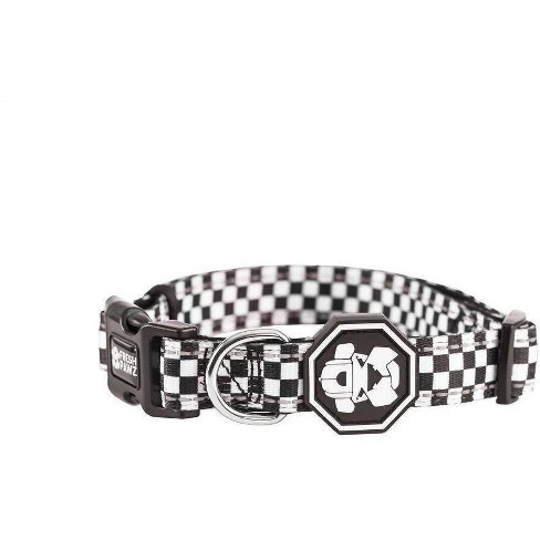 Fresh Pawz Checkerboard Dog Collar - image 1 of 3