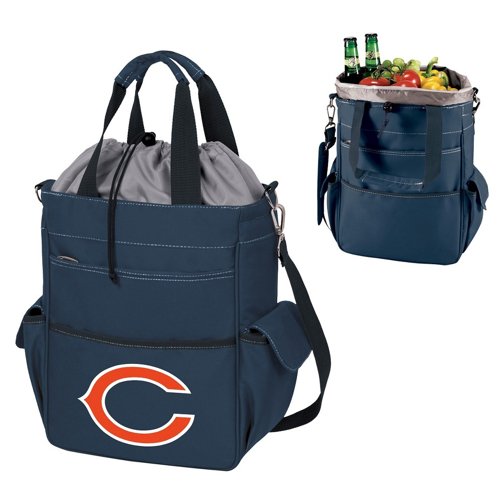 Chicago Bears Activo Cooler Tote By Picnic Time Navy