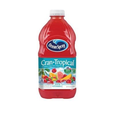 Ocean Spray Cran-Tropical Juice - 64 fl oz Bottle