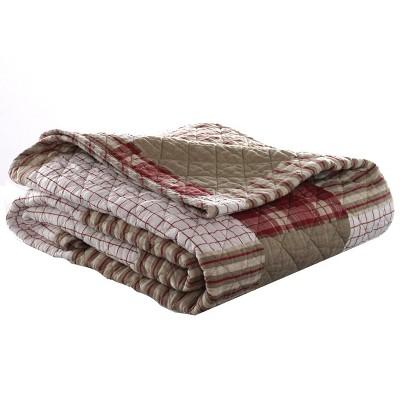 Camano Island Throw Blanket Red - Eddie Bauer