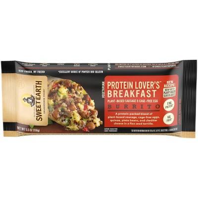 Sweet Earth Protein Lovers Frozen Breakfast Burrito - 5.5oz