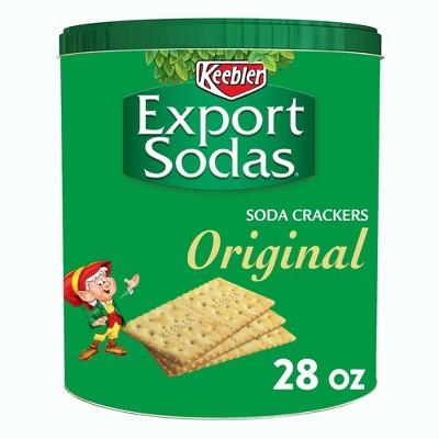 Keebler Original Export Sodas Crackers - 28oz
