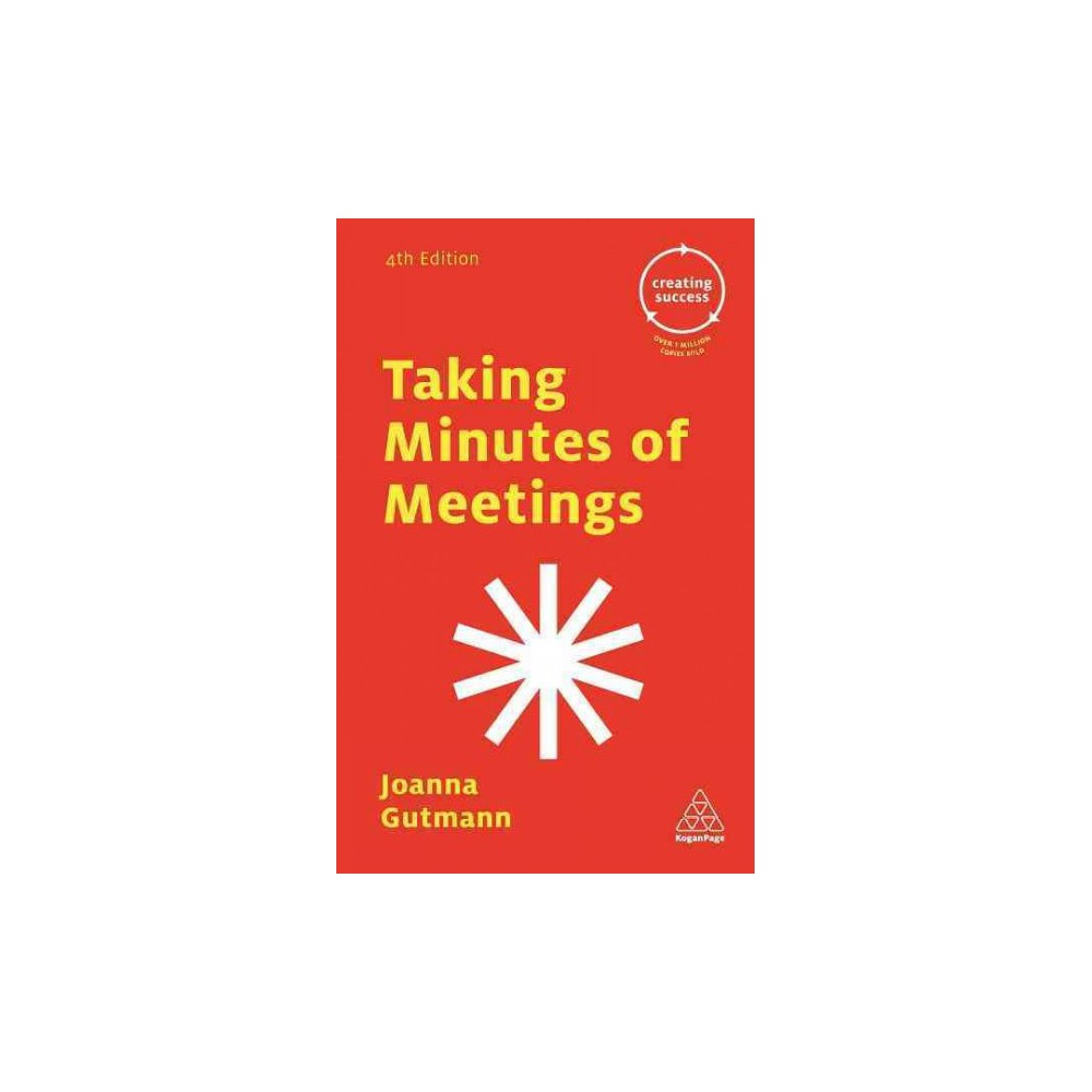 Taking Minutes of Meetings (Paperback) (Joanna Gutmann)