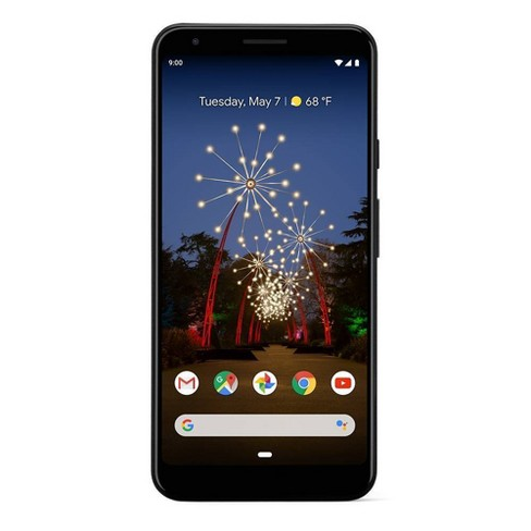 Verizon Google Pixel 3a XL (64GB) - Black - image 1 of 5
