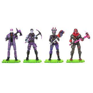 Fortnite Squad Mode & Dark Legends Action Figure 4pk