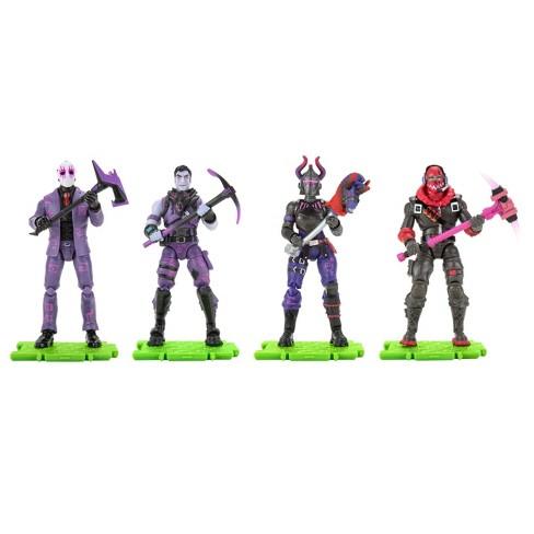 Fortnite Squad Mode Dark Legends Action Figure 4pk Target