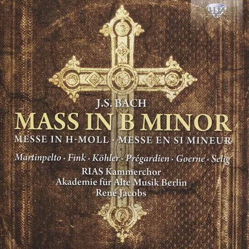 Rias-kammerchor - Bach:Mass in b minor (CD) - image 1 of 1