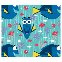 Finding Dory Happy Girl Flannel Fabric by the Yard