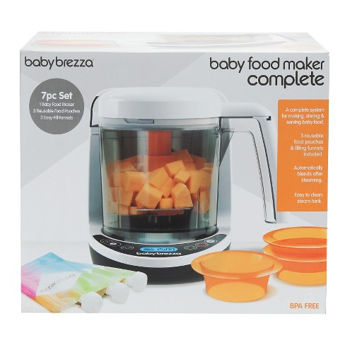 26016fb340b21 Play Baby Brezza Food Maker Deluxe - video 1 of 1. + 2 more