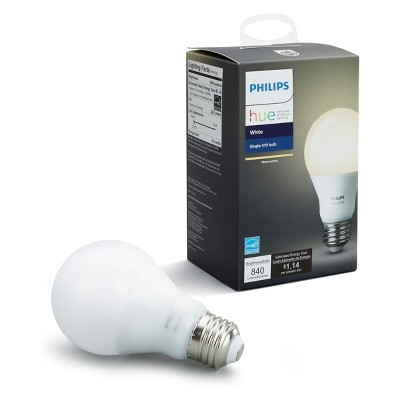 Philips Hue A19 60W Smart LED Bulb White