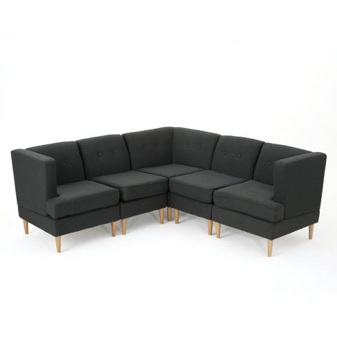 5pc Milton Sectional Sofa Set - Christopher Knight Home