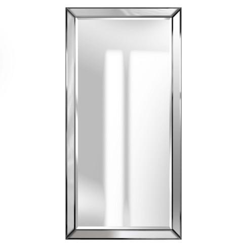 24 X48 Mirror Framed Beveled Wall