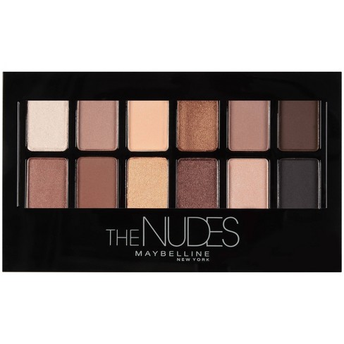 Maybelline Eyeshadow Palette - 20 The Nudes - image 1 of 4
