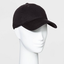 Women's Baseball Hats - Universal Thread™ Black One Size