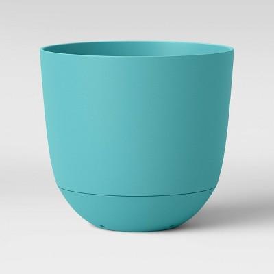 "8"" Self Watering Planter Blue - Room Essentials™"