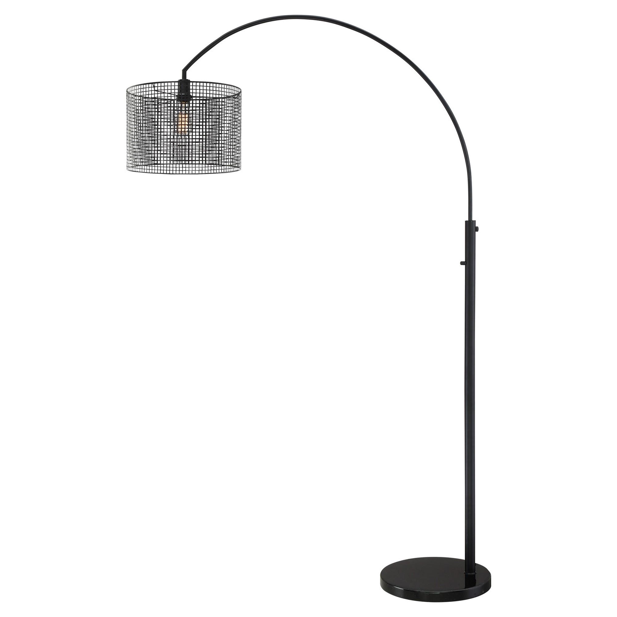 Hamilton Arch Lamp Black (Includes Energy Efficient Light Bulb) - Lite Source