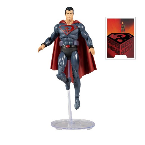 DC Comics Multiverse Figure - Superman Red Son - image 1 of 4