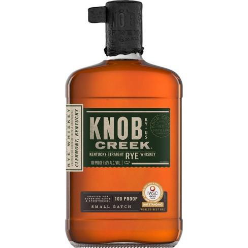 Knob Creek Straight Rye Whiskey - 750ml Bottle - image 1 of 1