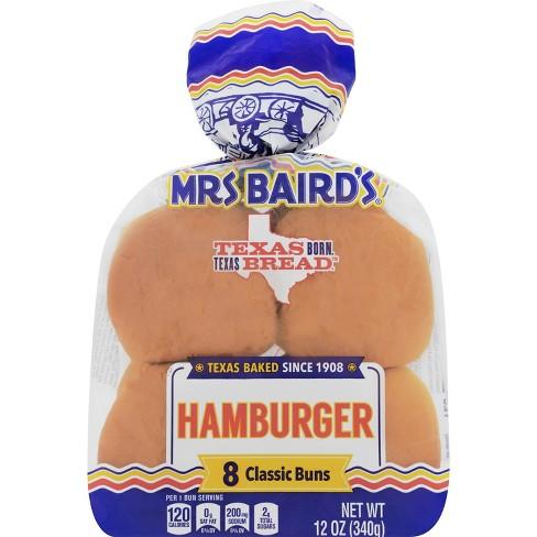 Mrs. Baird's Hamburger Buns - 8ct/12oz - image 1 of 1