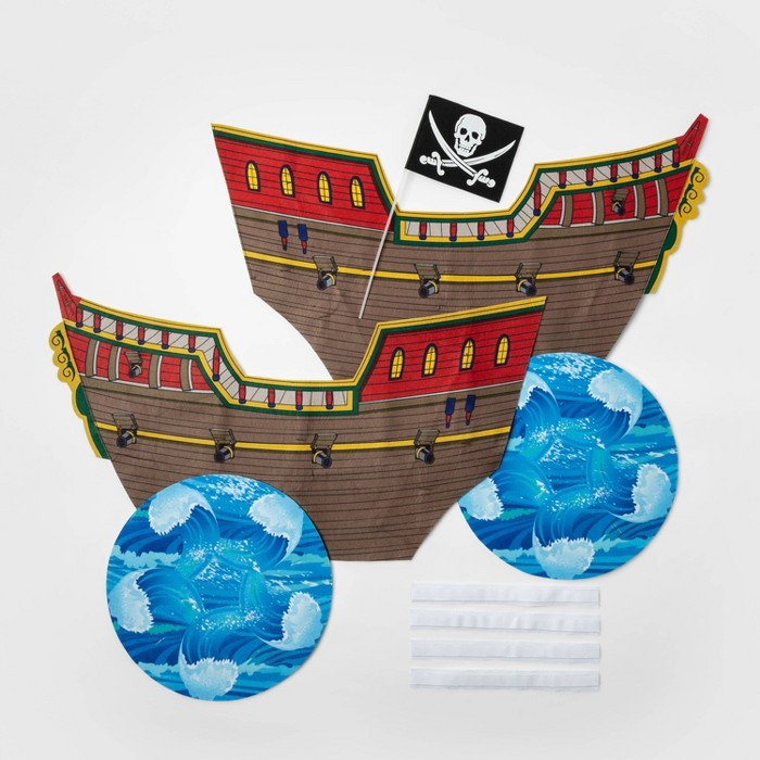Boys' Adaptive Pirate Ship Halloween Costume Wheelchair Cover - Hyde & EEK! Boutique™ - image 1 of 2