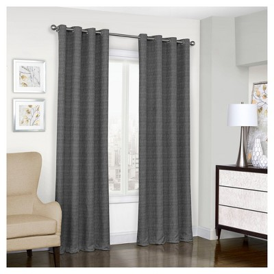 Trevi Thermalined Blackout Curtain Panel - Eclipse