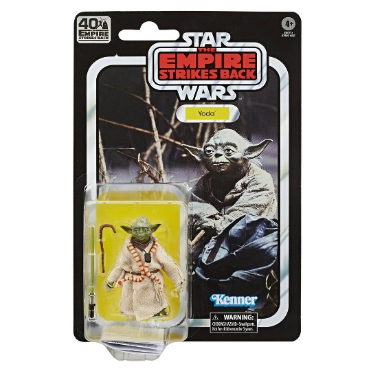 Star Wars The Black Series Yoda Toy Action Figure image number null