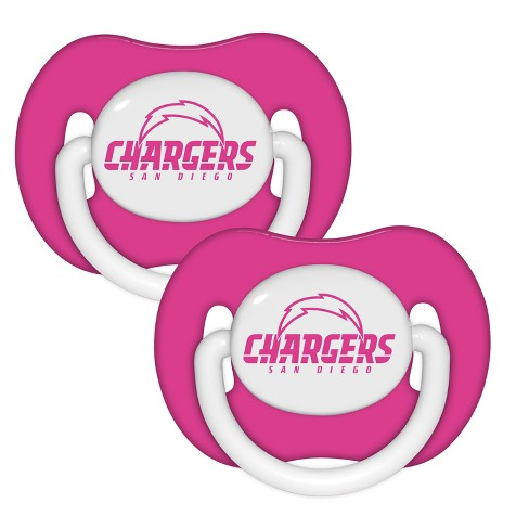2f94800c Los Angeles Chargers 2pk Pacifier Set - Pink