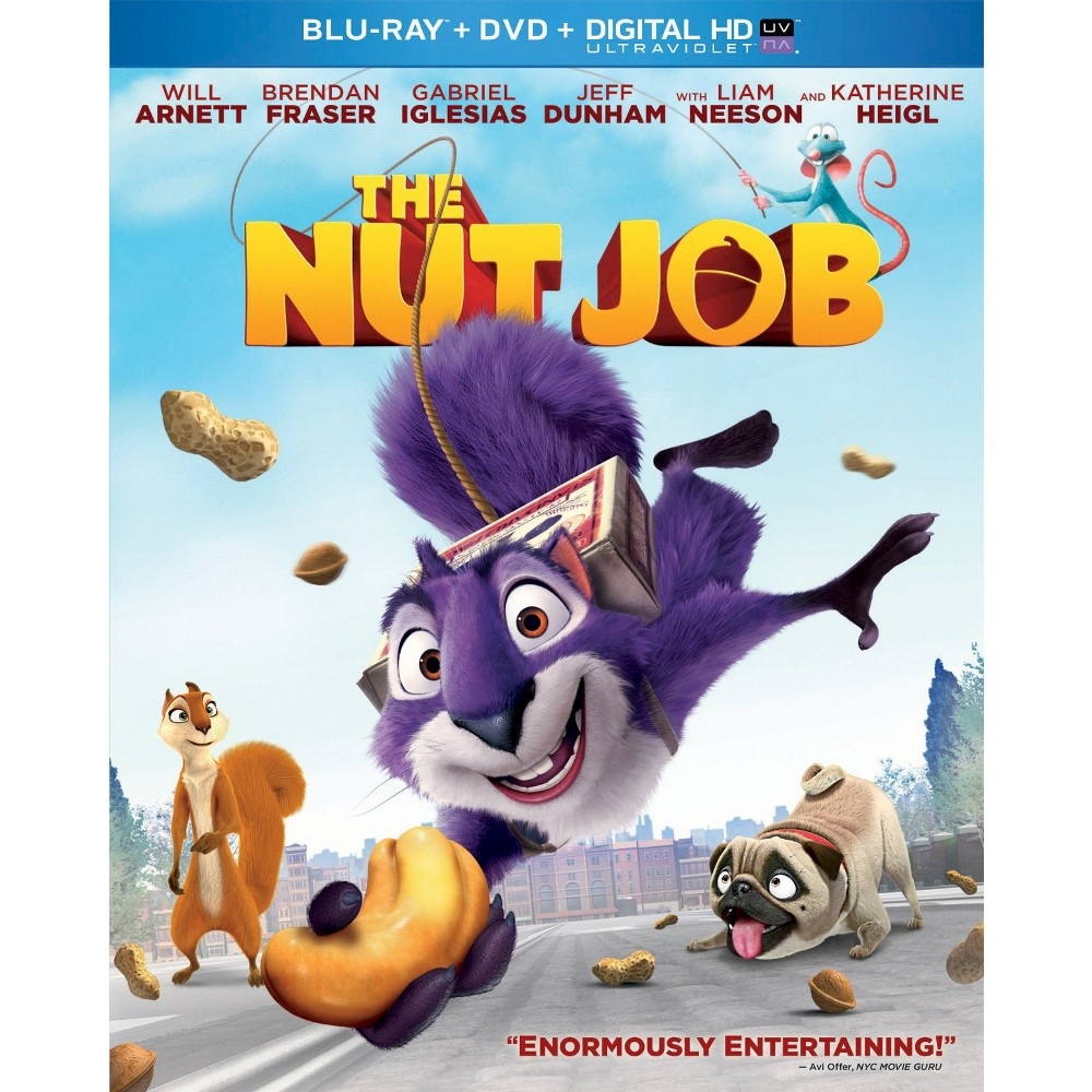 The Nut Job [2 Discs] [Includes Digital Copy] [UltraViolet] [Blu-ray/Dvd]