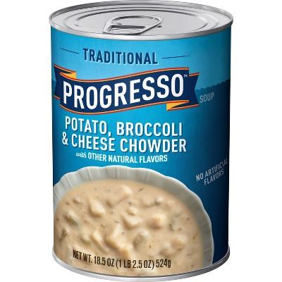 Progresso Gluten Free Potato, Broccoli & Cheese Chowder - 18.5oz