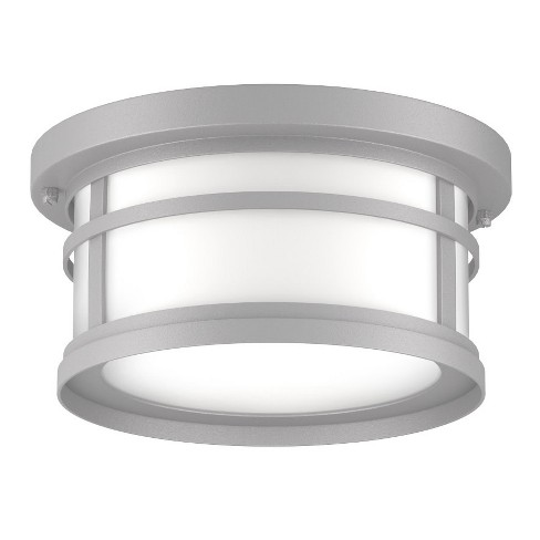 "Park Harbor PHEL1204 Nottoway 12"" Wide 2 Light Flush Mount Outdoor Ceiling Fixture - image 1 of 3"