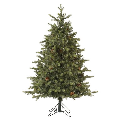 12ft Rocky Mountain Fir Pre Lit Instant Artificial Christmas Tree Full Clear Lights