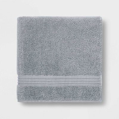Spa Bath Towel Light Gray - Threshold Signature™