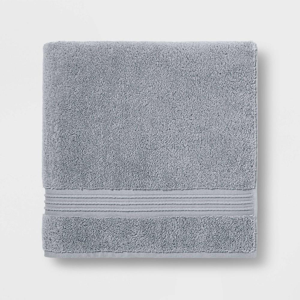 Spa Bath Towel Light Gray- Threshold Signature Cheap