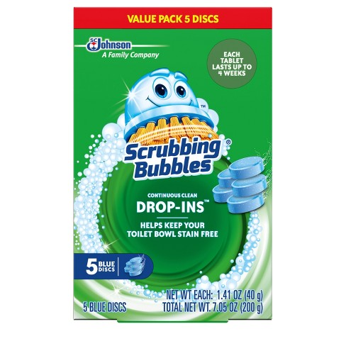 Scrubbing Bubbles Toilet Cleaner Drop Ins -  5pk - image 1 of 5