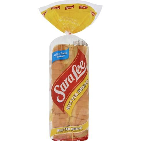 Sara Lee Butter Bread - 20oz : Target