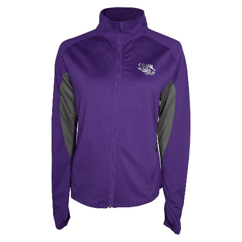 Women's LSU Tigers Track Jacket - Purple M - image 1 of 1