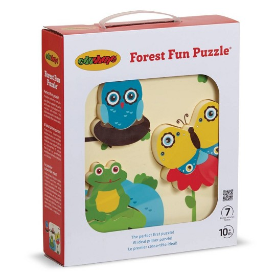 EduShape Forest Fun Puzzle 7pc image number null