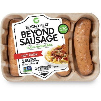 Beyond Meat Plant-Based Hot Italian Sausage - 4pk/14oz