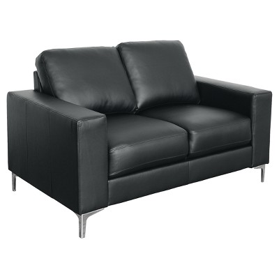 Merveilleux Cory 3pc Contemporary Bonded Leather Sofa Set   Corliving : Target