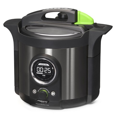 Presto Electric Pressure Cooker - Black - image 1 of 4