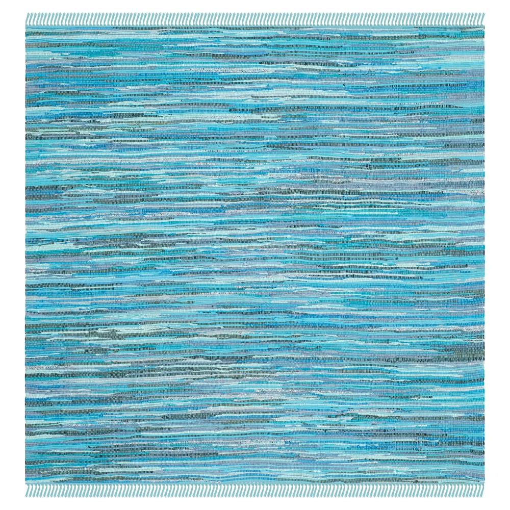 Huddersfield Area Rug - Blue / Multi (6' X 6' ) - Safavieh