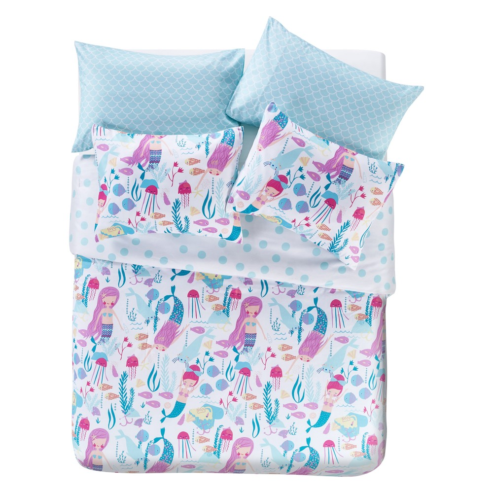 Ocean Dreamer 5pc Bed In A Bag Mulberry Comforter (Twin) - Vcny Home, Multicolored