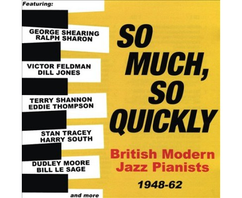 Various - So Much So Quickly:British Modern Jaz (CD) - image 1 of 1