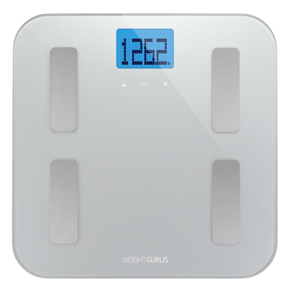 Image of AppSync Smart Scale with Body Composition Silver - Weight Gurus